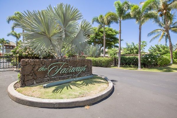 Entrance Mauna Lani Fairways